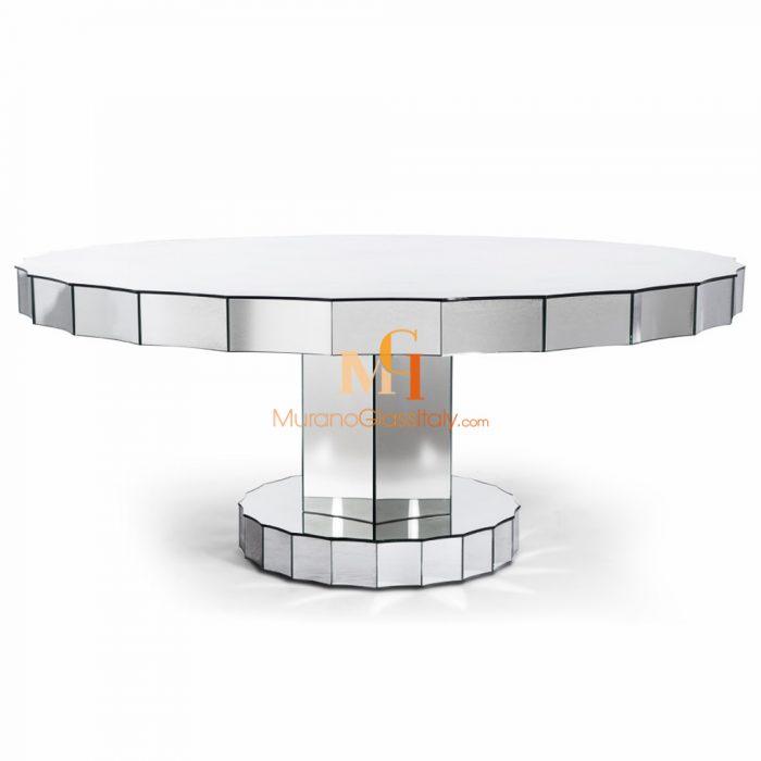 italian glass table