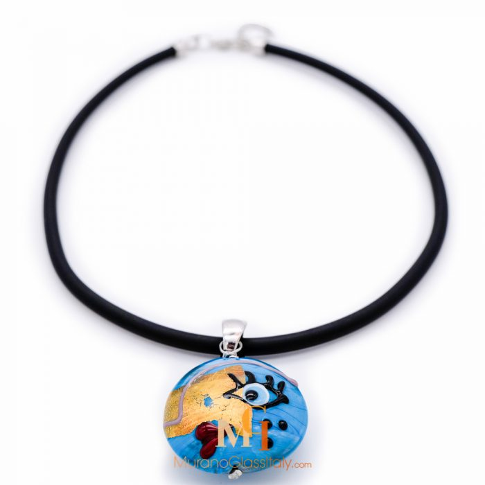 italian glass necklace