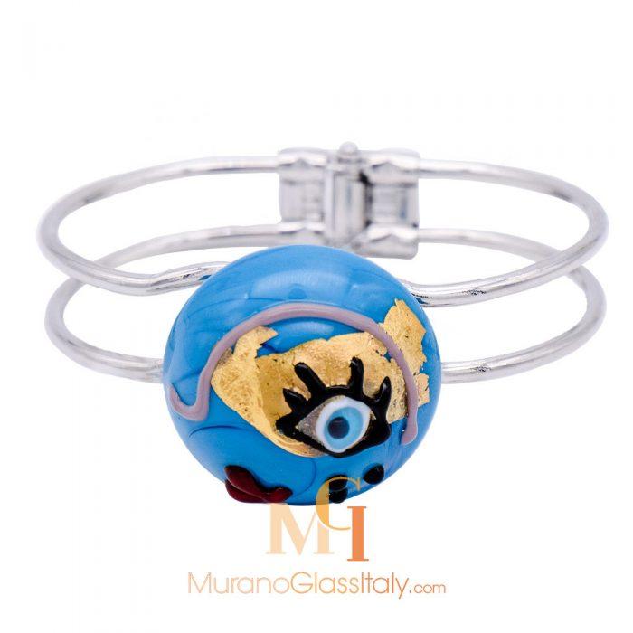 bracelet murano multicolore