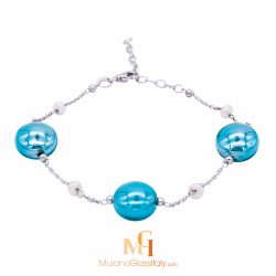 murano glass bracelet italy
