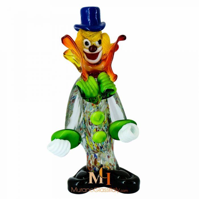 Clown Murano Glas