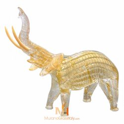 blown glass elephant