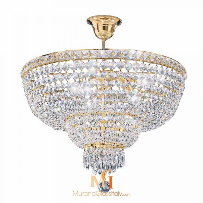crystal chandelier ceiling light