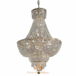 oversized crystal chandeliers