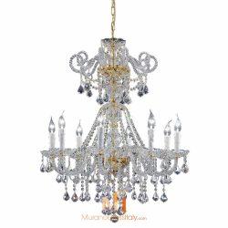 lustre cristal baroque
