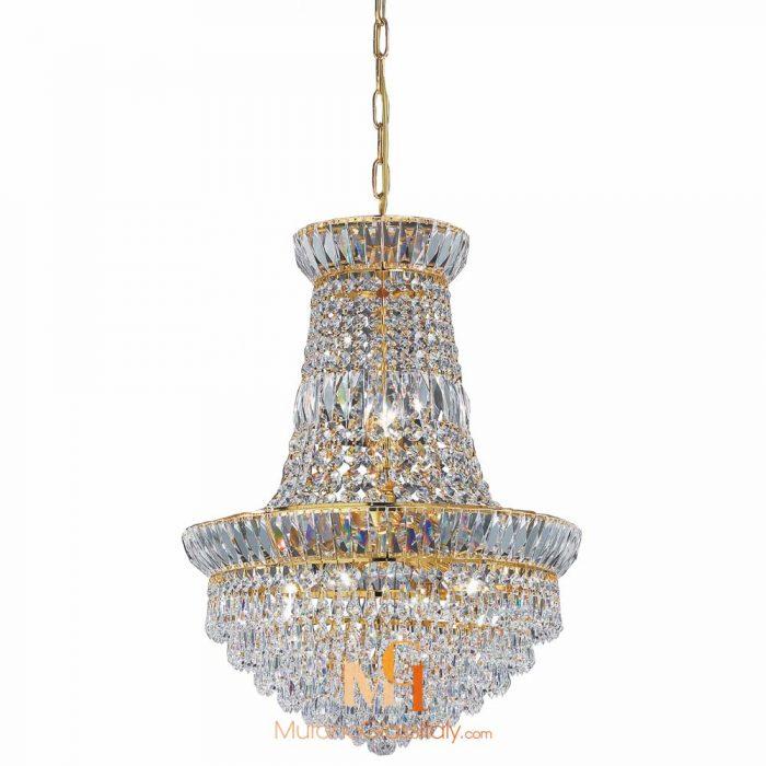 large chandelier crystals
