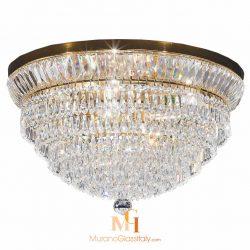 large crystal ceiling lights